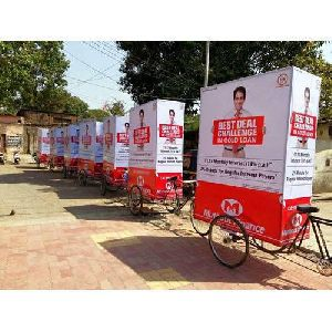Tricycles Advertising