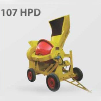107 HPD Hopper Concrete Mixer