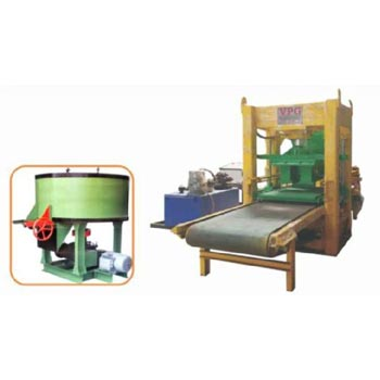 Belt Conveyor Type Fly Ash Brick Making Machine