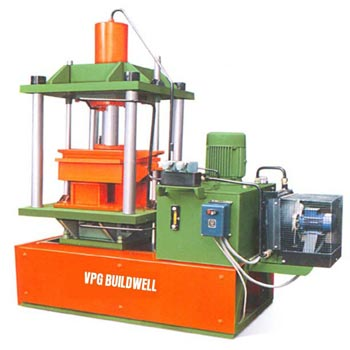 High Density Hydraulic Operated Paving Block Making Machine