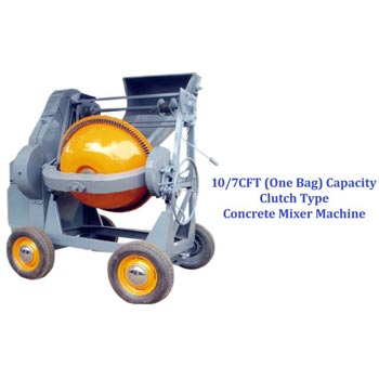 Rope Type Concrete Mixer Machine