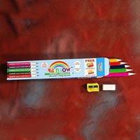 Rainbow Velvet Pencil