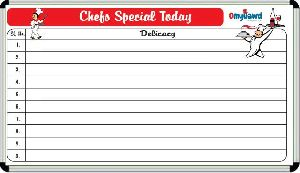Chefs Special Today Display Board