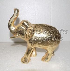 Brass Elephant Statue