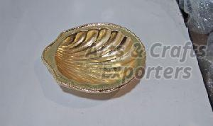 Brass Shell Bowl
