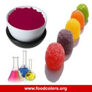 Carmoisine Food Colors