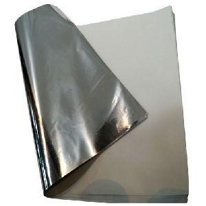 Silver Laminated Paper Sheet