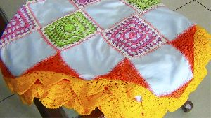 Gypsy Bohemian Crochet Table Cover