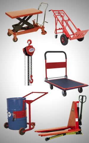 Material Handling Trolleys And Equipment