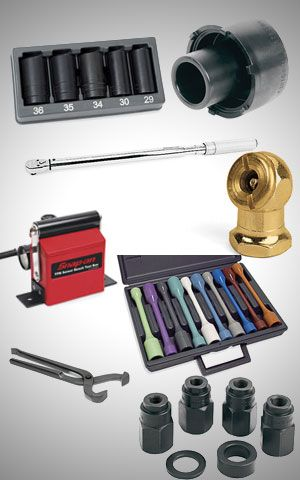 Tire And Wheel Service Tools