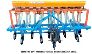 Tractor Operated Automatic Seed Cum Fertilizer Drill