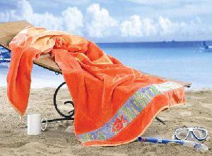 Premium Printed Pool Bath Towel