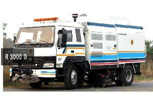 R3000d Road Sweeper Machine