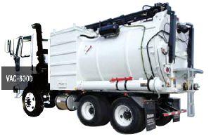 Vac 6000 Road Sweeper Machine