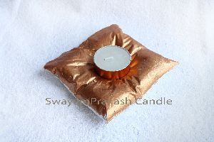 Copper Tea Light Candles