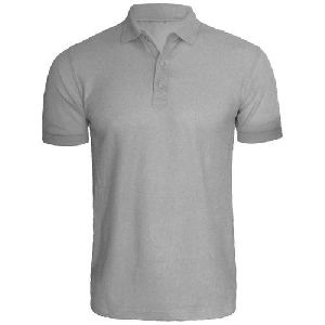 Mens Polo Neck Polyester T-shirts