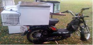 Moped Mounted Freezer