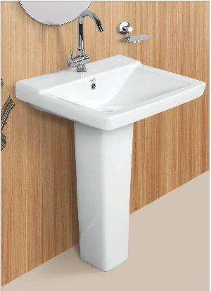 Adrina Designer Pedestal Wash Basin