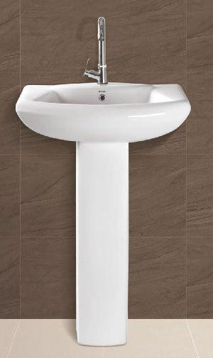 Altis Plain Pedestal Wash Basin
