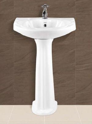 Orchid Plain Pedestal Wash Basin