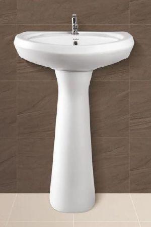 Repose Plain Pedestal Wash Basin