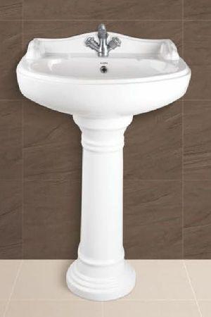 Serena Plain Pedestal Wash Basin