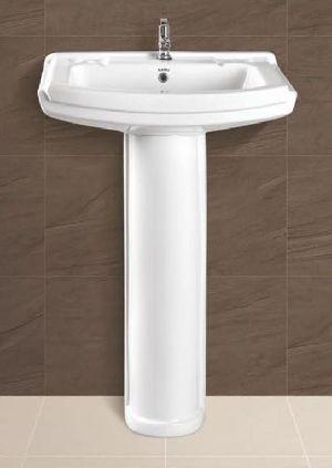 Sophia Plain Pedestal Wash Basin