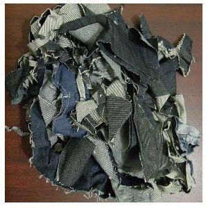 Denim Fabric Waste Clips