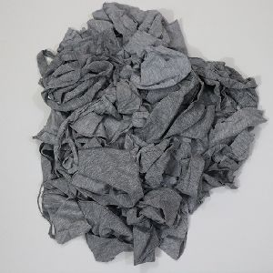 Melange Cotton Fabric Waste Clips