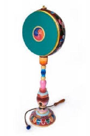 Buddhist Ritual Musical Drum