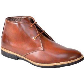 Brown Lace Up Candey Shoes