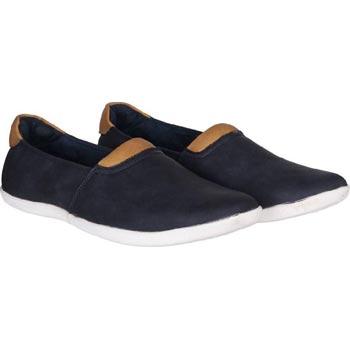 Navy Candey Loafer Shoe 1102