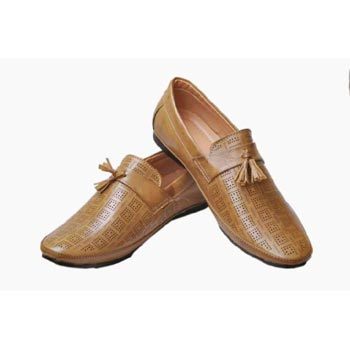 Tan Candey Loafer Shoes