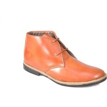 Tan Lace Up Candey Shoes