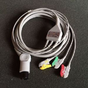 3 Pin Cable Ecg Monitor