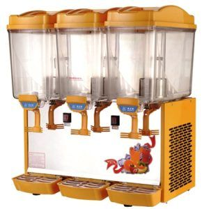 Three Lane Juice Dispenser Machine
