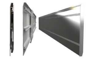 Modular Aluminium Universal Skirting Board