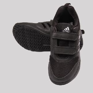 Adidas Black Shoe for Kids (Velcro)