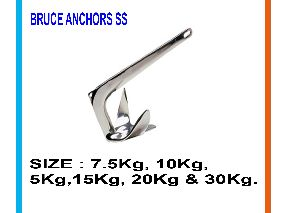 Bruce Anchors(stainles Steel)