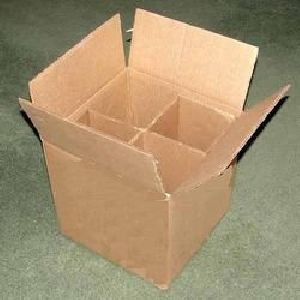 Partition Corrugated Packaging Box