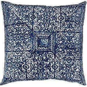 Cotton Hand Block Pillow Cover
