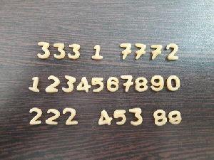 Numbers Shape Fryums