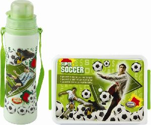 Jayco Green Lunch Box & Water Bottle Set