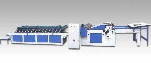 Bzj-a Semi Automatic Flute Laminating Machine