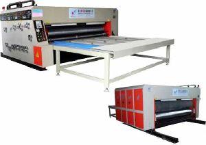 Hy-b Semi Automatic Printer Slotter Machine