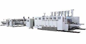 Hyffg-b Fully Automatic Printer Slotter Machine