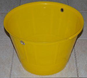 Yellow Pvc Bucket