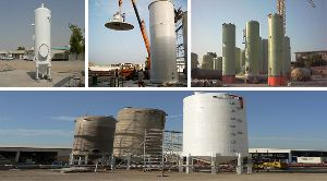 Fibre Glass Storage Tanks