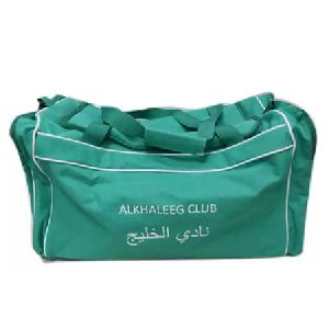 Turquoise Sports Duffel Bags