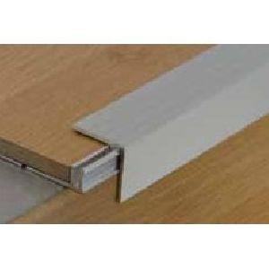 Silver anodised aluminium